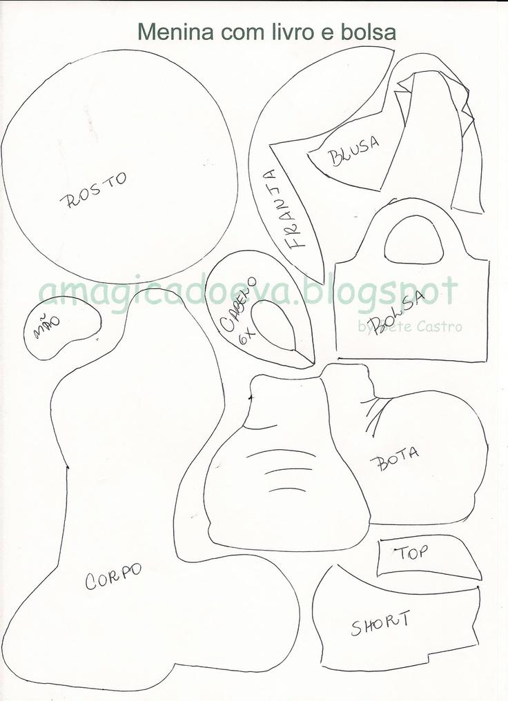 A magica do EVA: Capa de caderno e molde Brinde!