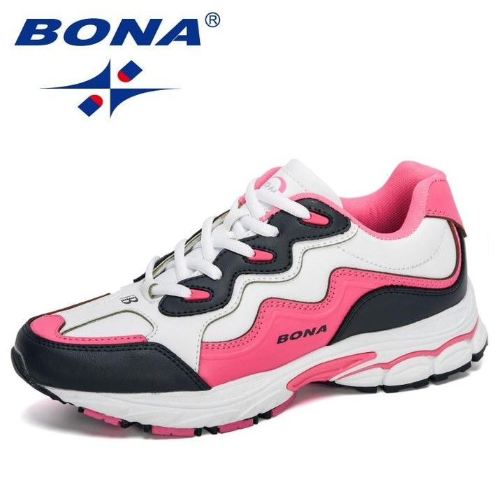 Bona 2020 New Designers Women Action Leather Running Shoes Ladies Shoes Mesh Athletic Shoes Sneakers W In 2020 Womens Sneakers Womens Shoes Sneakers Casual Shoes Women