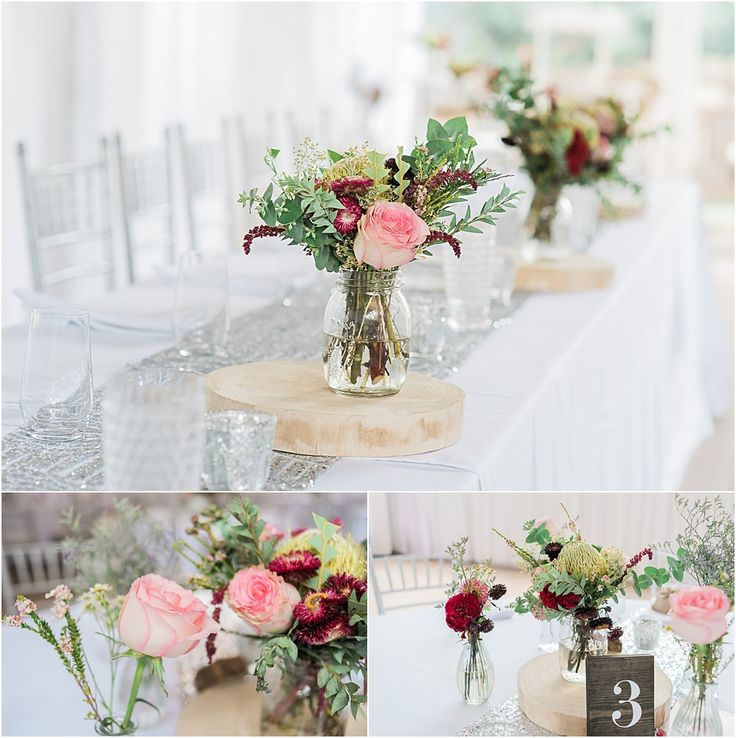 Braeside Chapel Wedding Styling Loving this rustic glam wedding in the Braeside Marquee #wedding #styling #braeside #chapel #marquee #rustic #glam #rustic #bridal #table