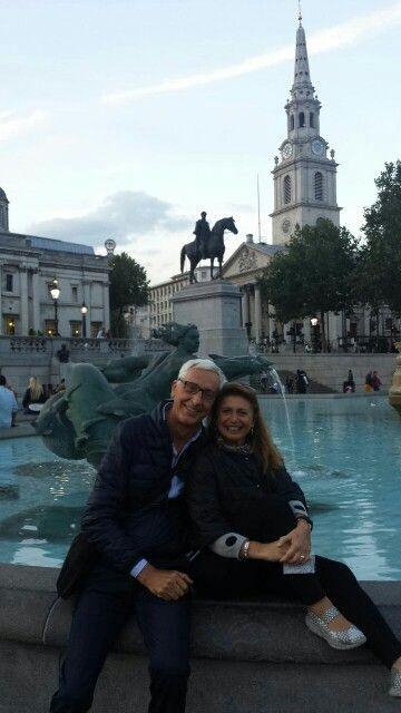 London..Trafalgar Square...
