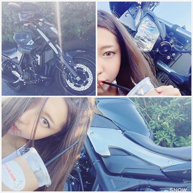 【co_hal_co】さんのInstagramをピンしています。 《今日もぼくの彼氏はイケメンである。🏍✨ 気分はまだ夏☀️ #mt25#girlsbiker#bike#yamaha#shonan#bike#motorcycle#motorbike#bikelife #バイク#江の島#湘南#海#ツーリング #ソロツー#バイク女子#ガールズバイカー#ヤマハ#ピーカン#最高》