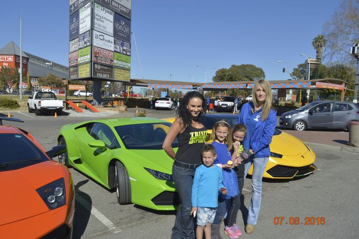Under his Covering : Lamborghini RSA &Trinity Protection Services departing from News Cafe Boksburg  for Fast Fest