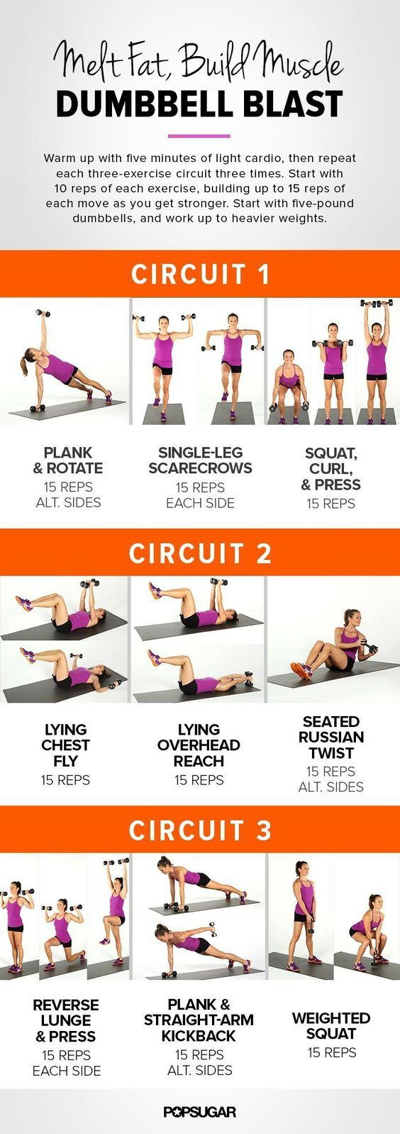 Maximize Your Workout Results With Our Printable Dumbbell Workout