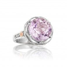 SR12313 Rose Amethyst ring Available from Thomas S Fox Diamond Jewelers 616.942.2990