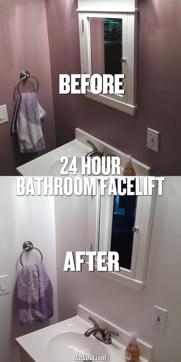 Rocked out a 24-hour bathroom facelift with @Lowe's #Lowes #LowesCreator