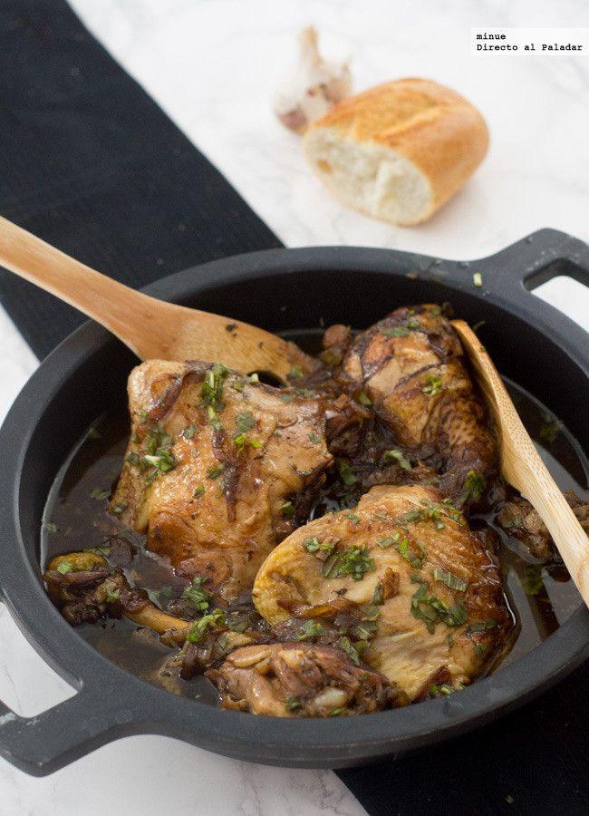 Directo al Paladar - Receta de pollo balsámico en diez minutos