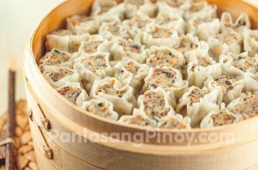 This Chicken Siomai recipe is a variation of pork siomai or shaomai. This recipe makes use of lean ground chicken plus additional vegetables and seasonings.