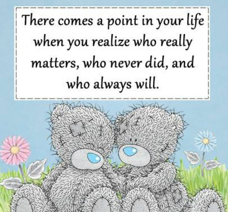 There comes a point in your life....