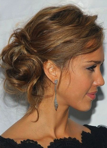messy updos with bangs - Google Search
