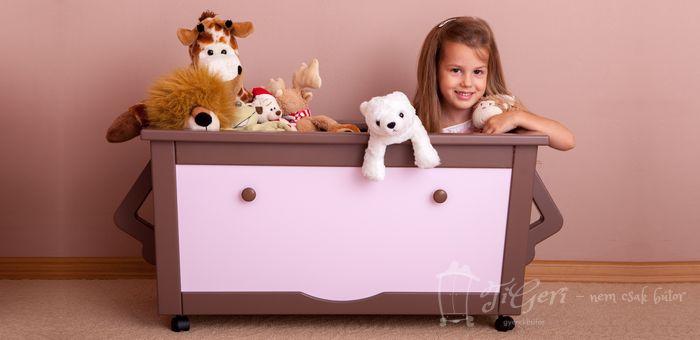 TiGeRi Kids Furniture - Toy Box