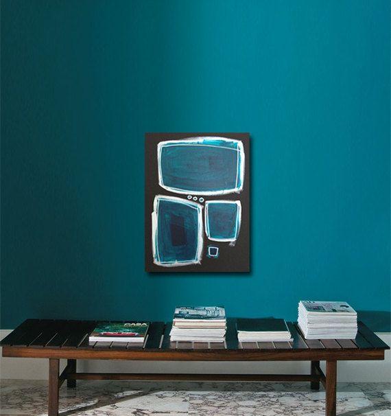 AEGEAN Abstract Acrylic Painting Original Fine Art by linneaheideart, $250.00 #art #painting
