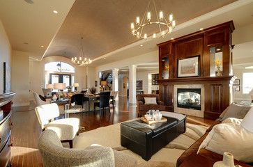 open concept formal living and dining rooms open concept living room design ideas pictures remodel and decor pretty houses pinterest open concept - Open Concept Design Ideas