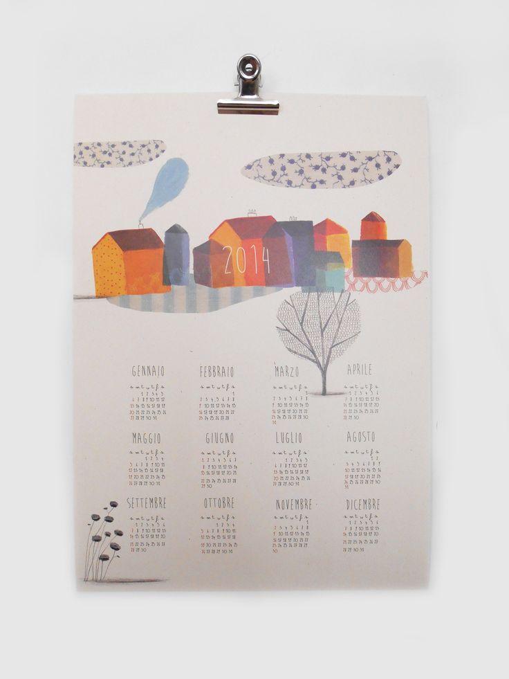 Beatrice Cerocchi Illustration, Calendar 2014