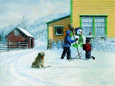 """""""Snowing Again"""" by Lloyd Pretty"""