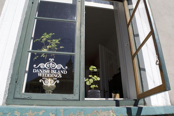 The office of Louise Moloney, of Danish Island Weddings