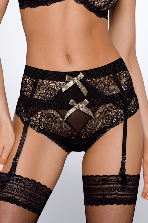 Pas do pończoch Ava 1461 / Garter belt / 50,20 PLN #eroticlingerie #garter_belt #ponczochy #pas_do_ponczoch #bielizna#stockings #erotic #woman #lingerie #sexylingerie  #stockings #nsfw