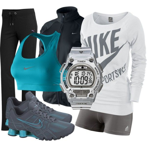 """MY BOYFRIEND WOULD LOVE ME IN ALL THIS NIKE GEAR LOL """"Speed Demon"""" by mkfasiongirl on Polyvore"""