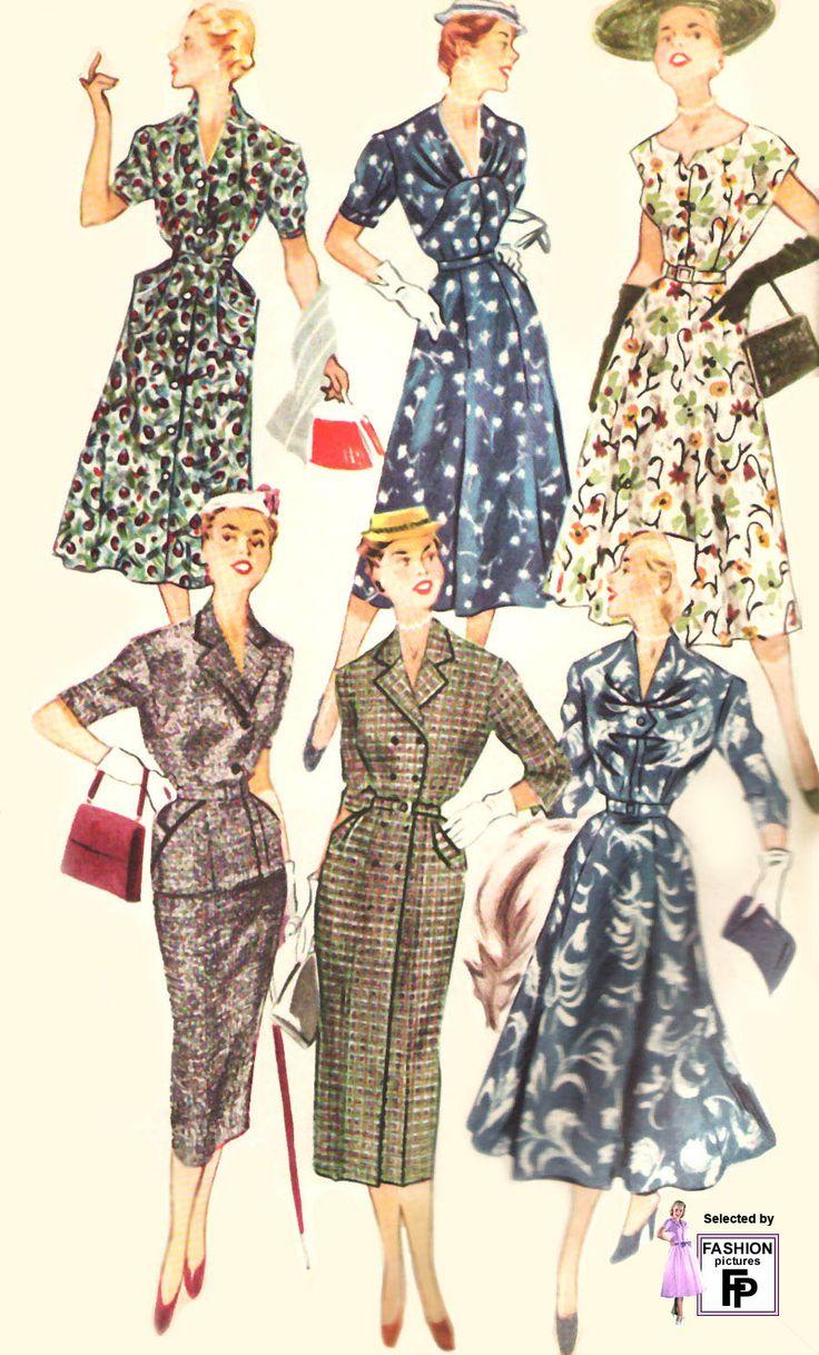 1955 fashion women the image kid has it. Black Bedroom Furniture Sets. Home Design Ideas