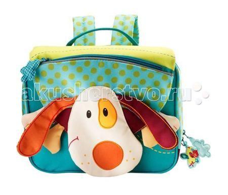 Lilliputiens Дошкольный рюкзак Собачка Джеф А5  — 2990р. -------  Lilliputiens Собачка Джеф: дошкольный рюкзак А5.  Дошкольный рюкзак Собачка Джеф А5 с удовольствием сопровождает маленьких исследовательниц как в начальную школу, так и в детский сад. Этот школьный портфель удобный, практичный и очень забавный! В портфеле несколько удобных отделений. С этим ранцем можно не бояться выйти на улицу в любую погоду.   Портфелю нипочем даже молочные и шоколадные ливни, потому что он полностью…