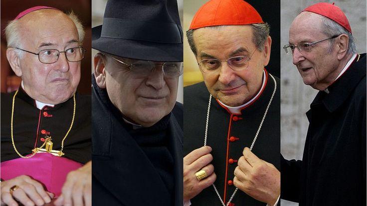 Los cardenales rebeldes del Vaticano que acusan al papa Francisco de hereje