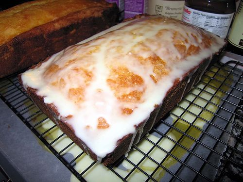Barefoot Contessa's orange pound cake - Best pound cake EVER!