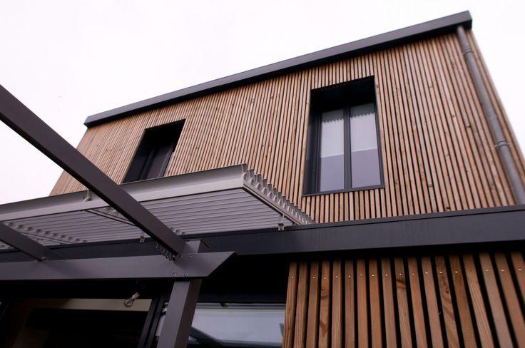 48 best images about maison bois on pinterest affordable prefab homes aquitaine and bbc. Black Bedroom Furniture Sets. Home Design Ideas