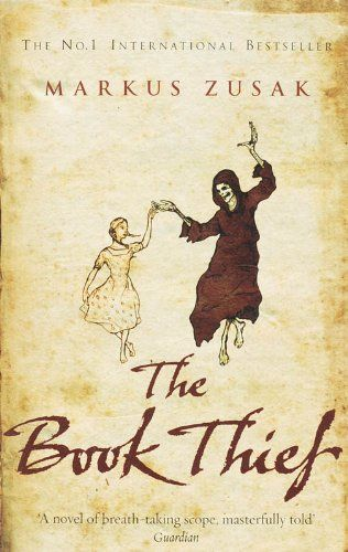 The Book Thief, Markus Zusak. If you've not read this, then you must! Clear your diary and get some tissues.