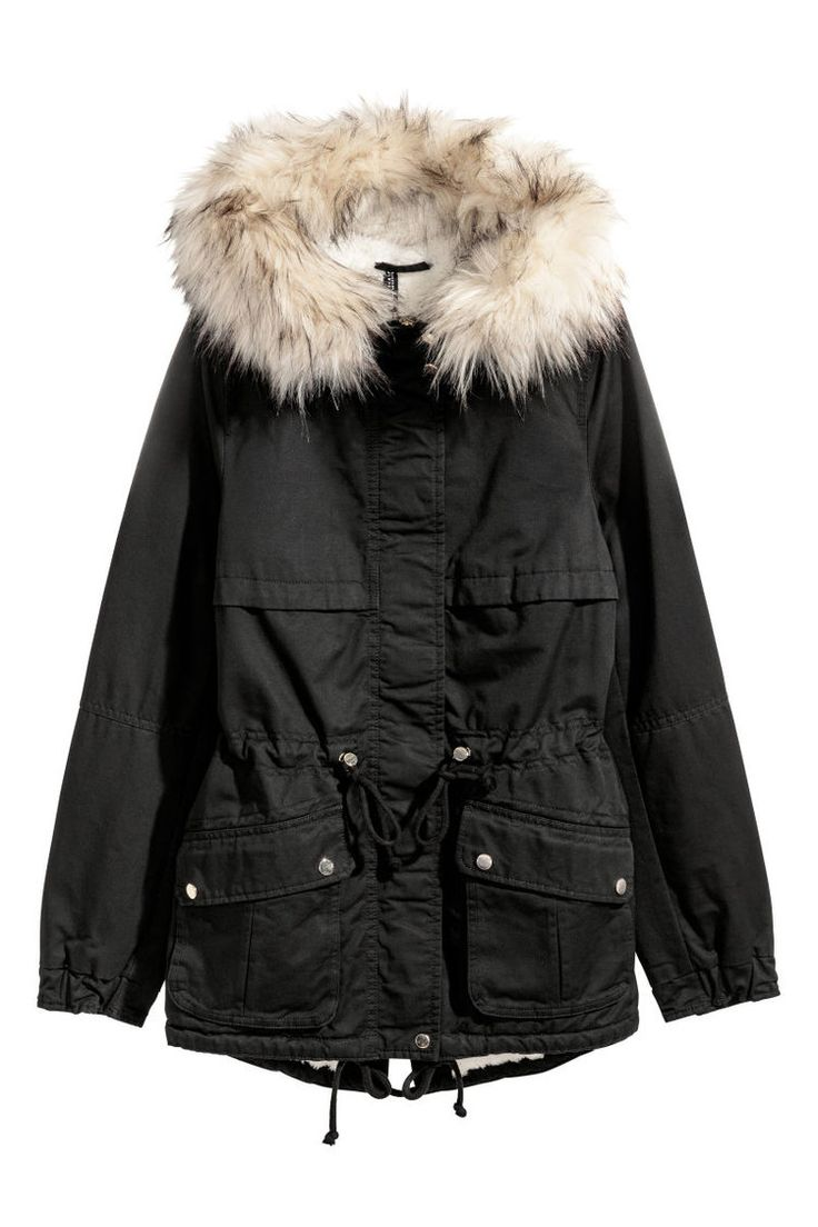 Cute Winter Kids Clothes -- Black Womens Fur Hooded Snow Coat -- Mommy Blogger - The Overwhelmed Mommy