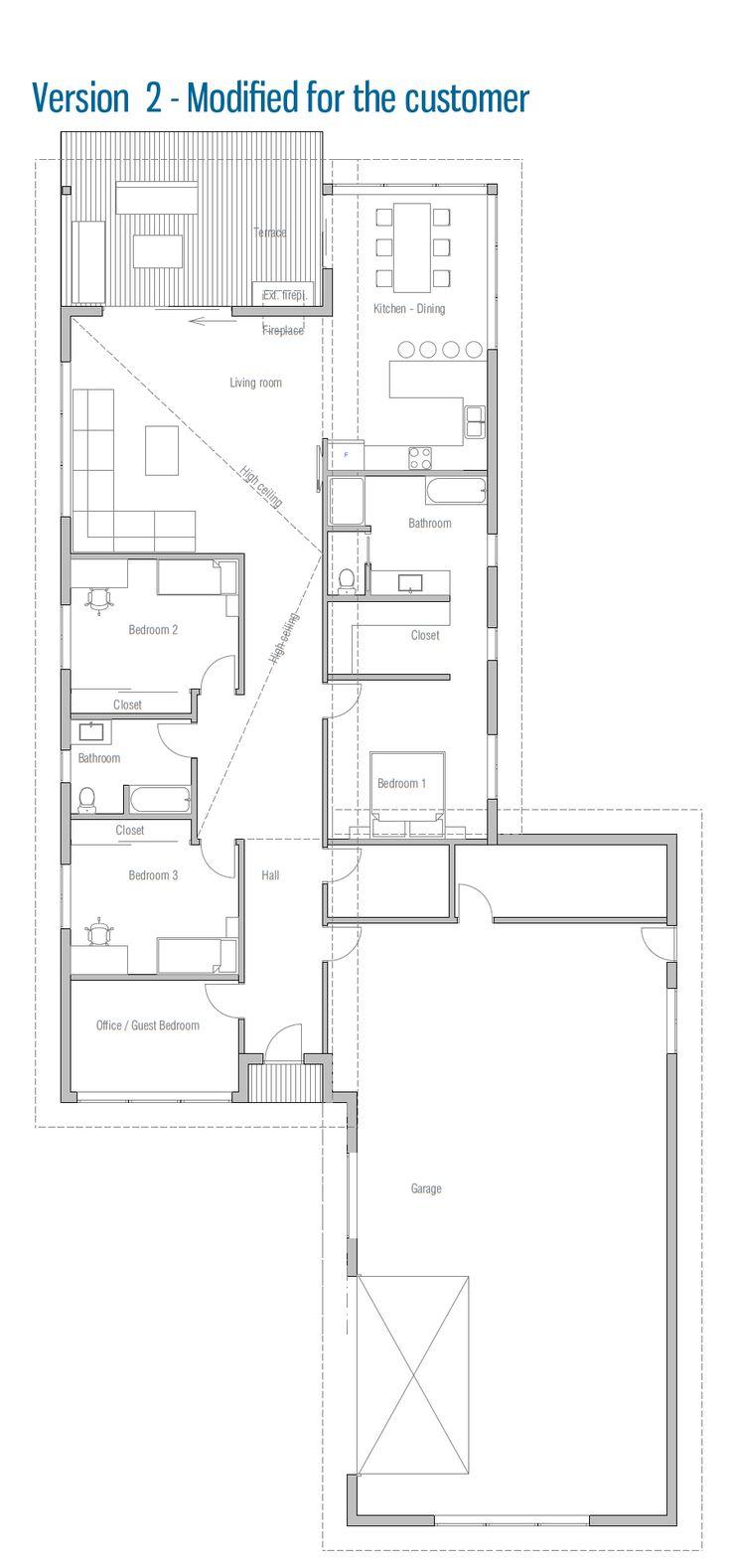 Modern Architecture House Floor Plans 220 best floor plans images on pinterest | floor plans, small