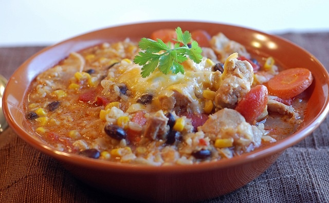Taco Soup in the Rice Cooker | Recipes