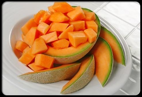 Cantaloupe heart-healthy