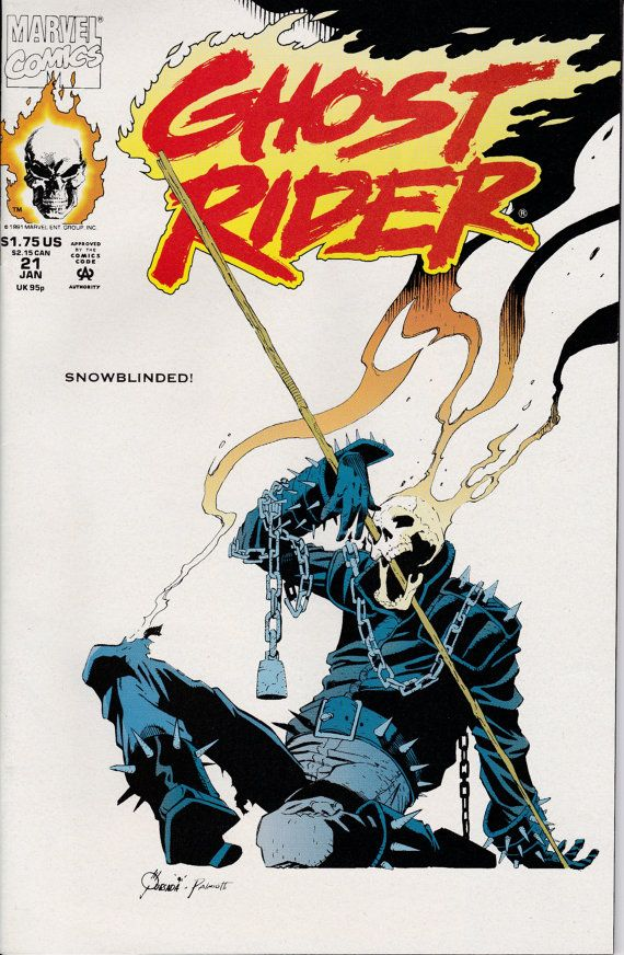 Ghost Rider  21  January 1992 Issue  Marvel Comics  by ViewObscura