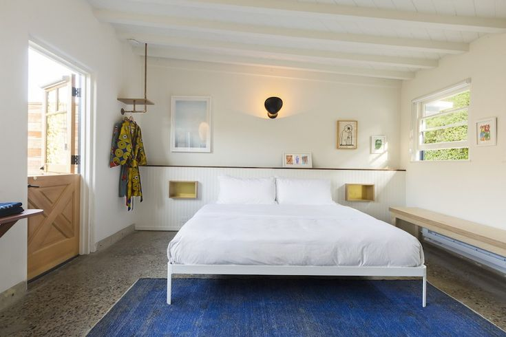 Yesterday we featured theNative Hotel in Malibu, California, designed by creative agency Folklor, who gave the renovated bungalow hotel a modern Californi