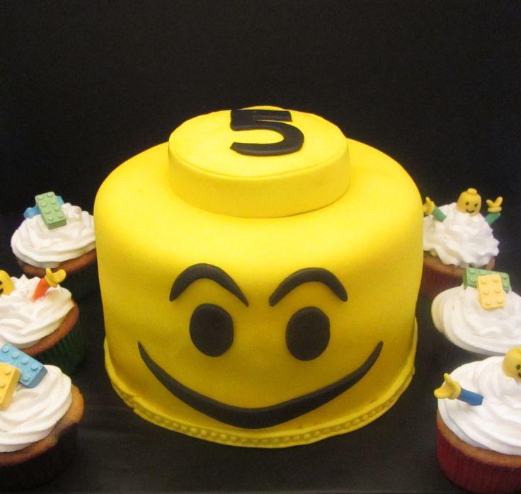 Lego Kake & Cupkakes