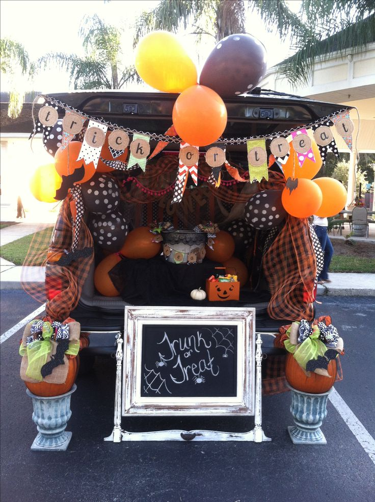 My car at Trunk or Treat, we won first place... Ponte Vedra Presbyterian Church.