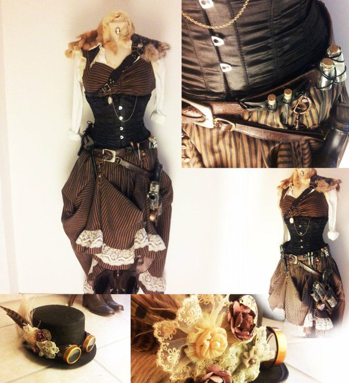 die besten 25 steampunk kleidung ideen auf pinterest steampunk outfits steampunk hose und. Black Bedroom Furniture Sets. Home Design Ideas
