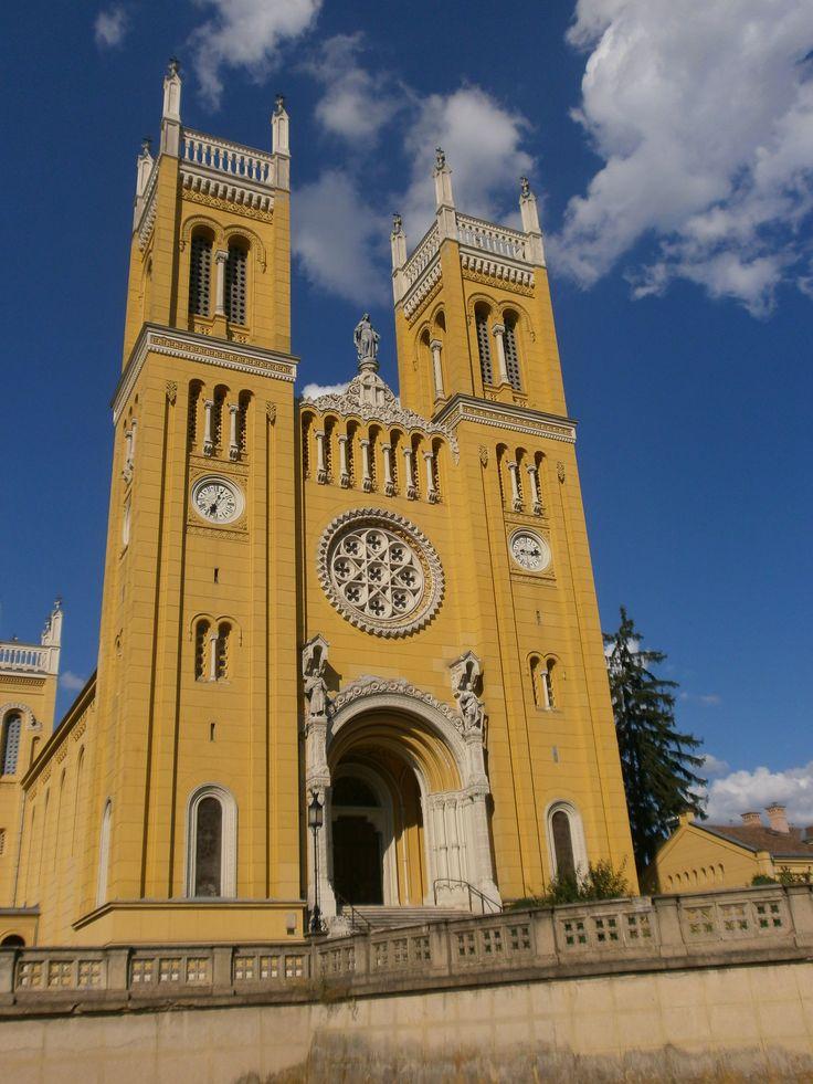 A fóti katolikus templom.