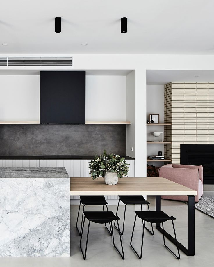 // We have the MOST amazing KITCHEN TOUR for you tonight!! You might remember this pup, from a Live Home Tour we did on Stories, back in October? :) Take a bow @thomasarcherhomes @aimeestylist! Design + build by @thomasarcherhomes. Interiors + styling by @aimeestylist. Photography by that happy chappy @jamesgeer Team DS. X #designstuff #kitchen #kitchendesign #kitchenideas #kitchenstyling #kitchendecor #melbourne #melbournedesign #australiandesign #thomasarcherhomes #arch...