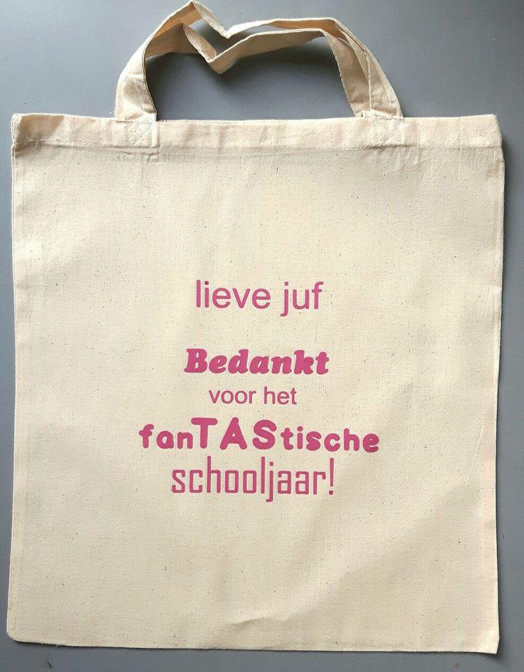 Afscheid kadotje voor de juf einde schooljaar www.suuzzo.nl
