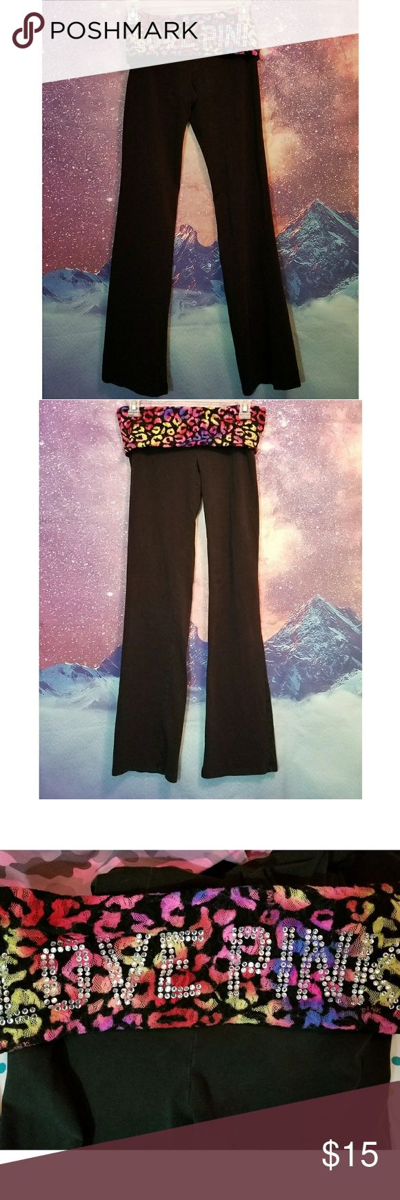 Victoria's Secret PINK Yoga Pants Size Small Great Condition PINK Victoria's Secret Pants Leggings #yogapants