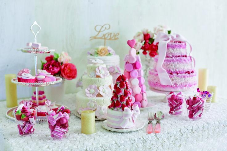 甘いピンクの世界を召し上がれ 全てWeddingFactoryで御用意できます  WeddingFactory http://www.weddingpartyfactory.com/