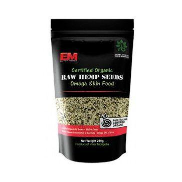 EM Super Foods Certified Organic Hulled Hemp Seeds $14.95