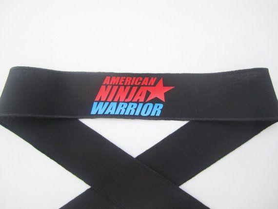 Ninja Headbands   American Ninja Warrior Themed Party by FavorWrap