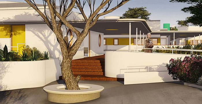 Transitional Living Center  View entries for the Architecture for Social Gain Awards 2015 Competition.