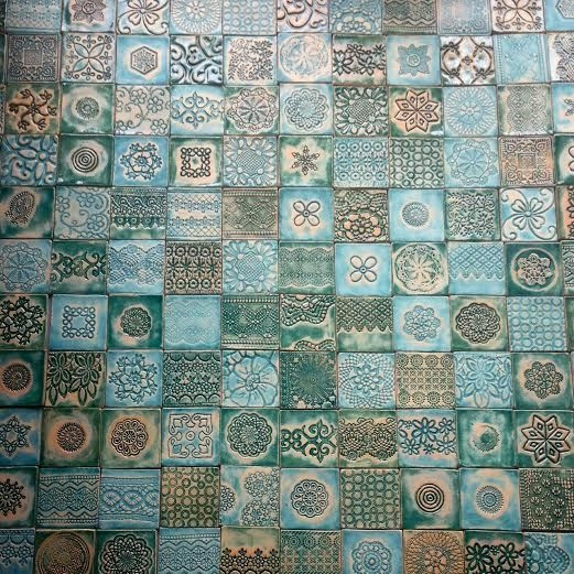 ceramic tiles, kafle ceramiczne, handmade, tiles, tiles from clay