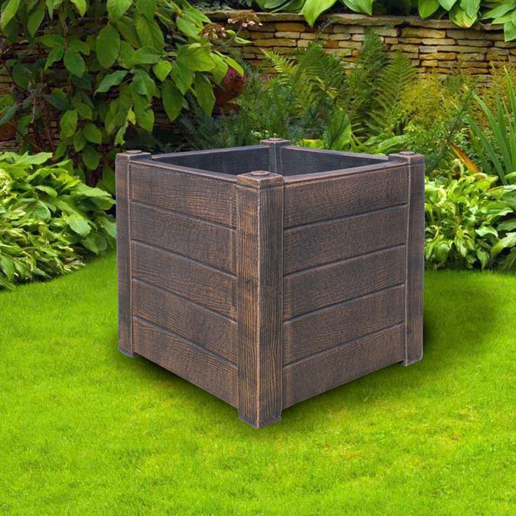 Артикул 0006158 Название товараМаленький ящик для растений (Planter TEAK S) Размер 300х300х300 Цена 4 600
