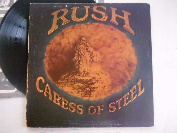 Rush Caress Of Steel LP Vinyl Record 1975 Album Hard Rock Mercury Gatefold    #HardRock