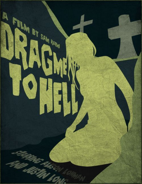 vintage horror movie posters   ARTist SamRAW08 re-imagined some of the classic horror movie posters ...