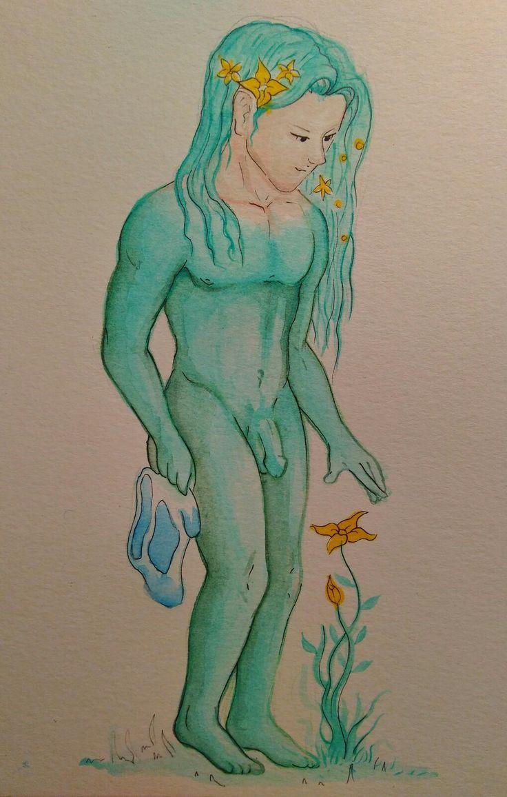 Fern - watercolor & ink Adventure time fan art