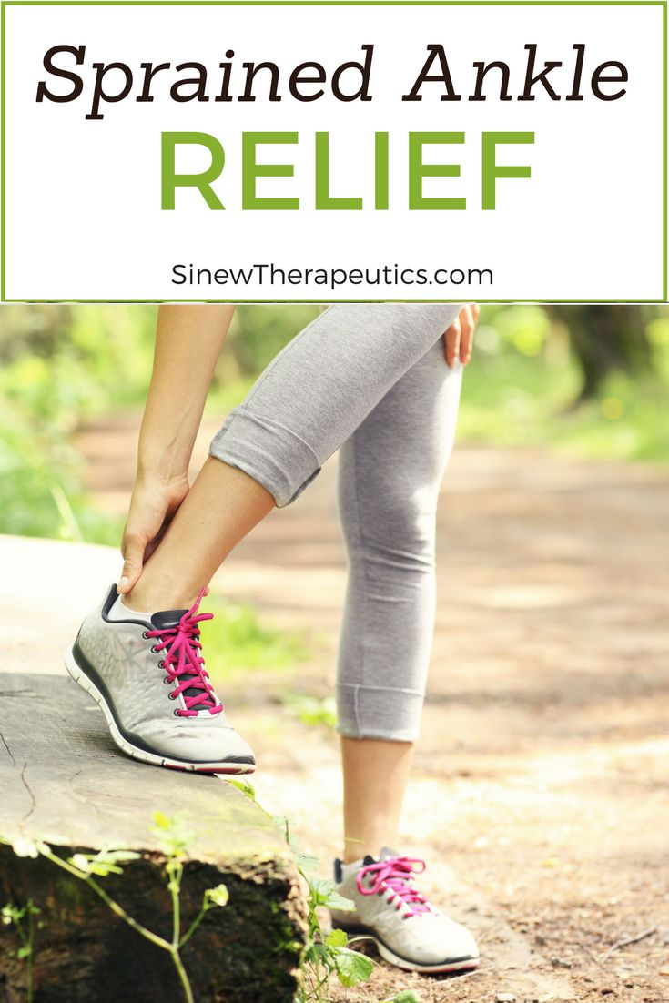 Bruising, swelling and stiffness are common symptoms of a sprained ankle. Learn more about a Sprained Ankle at SinewTherapeutics.com